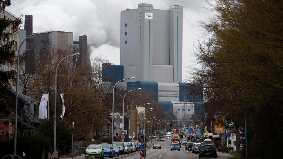 The Niederaussem power plant