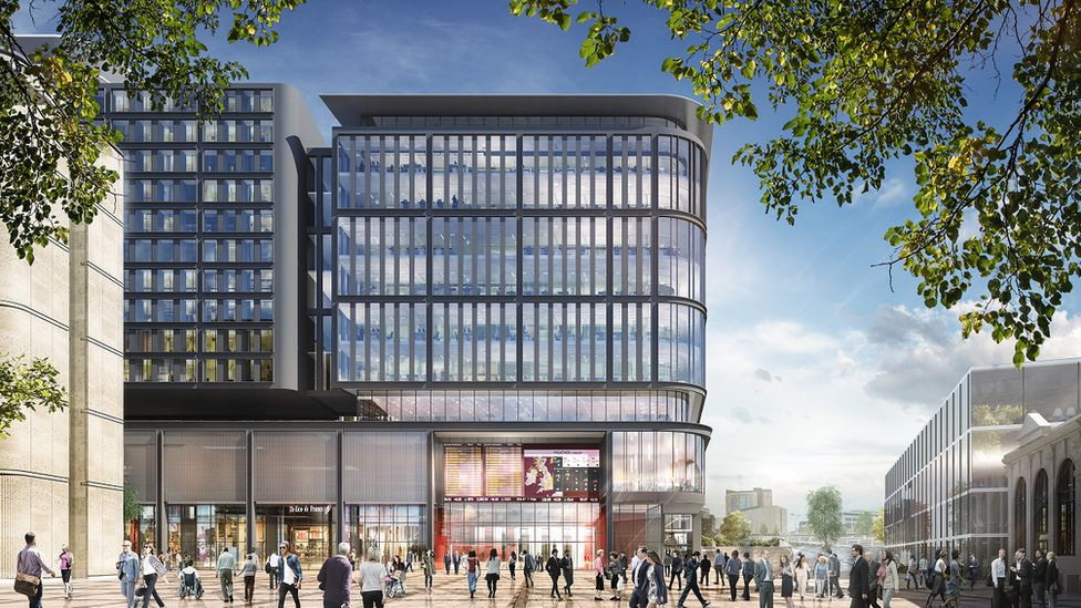 Artist impression of how Cardiff's new transport interchange might look