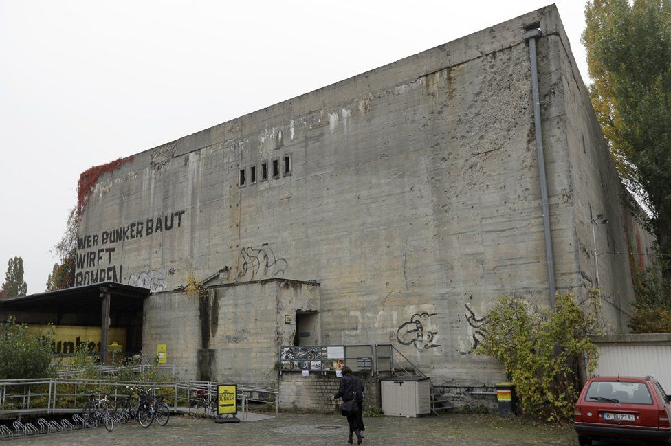 Berlin Story Bunker housing Hitler bunker exhibition (AP pic)