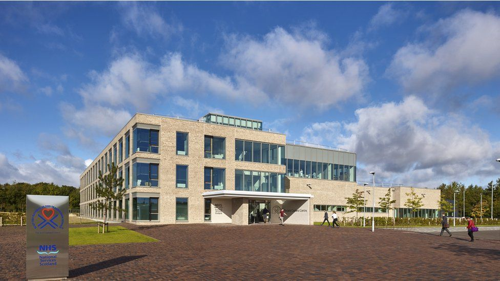 Scottish National Blood Transfusion Service – The Jack Copland Centre, Edinburgh - contract value £30m (Reiach and Hall Architects for Scottish National Blood Transfusion Service)