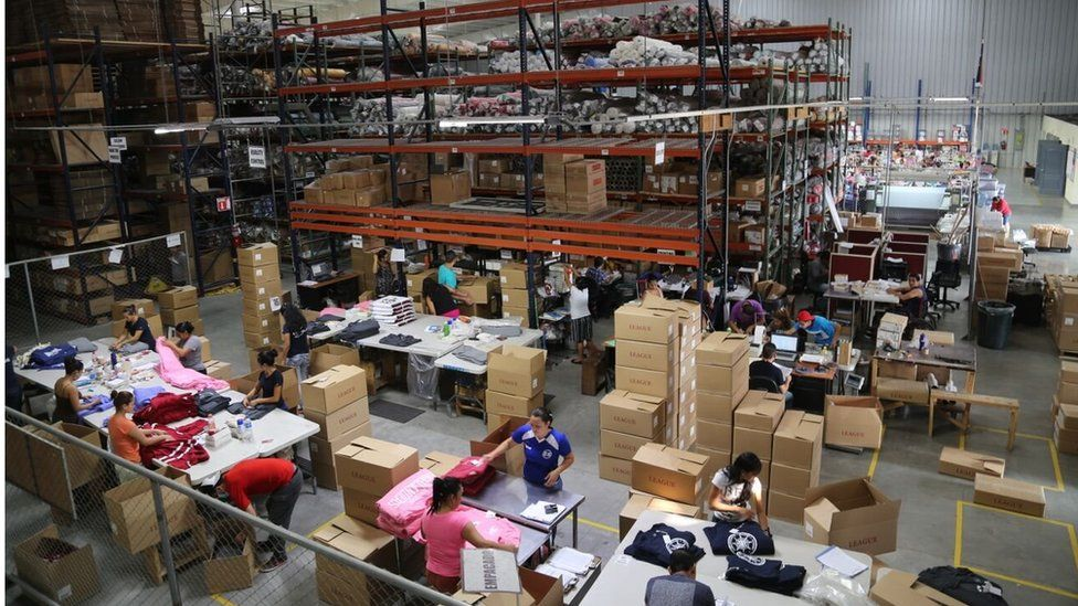 Factory in San Salvador (July 2015)