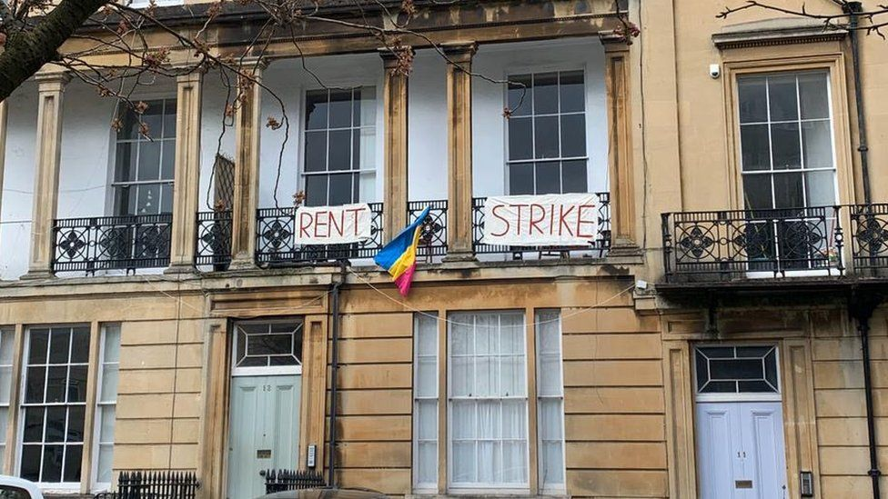 Rent strike Bristol