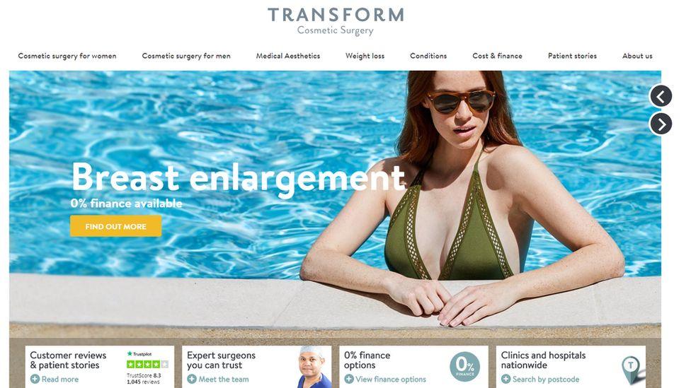 Transform website