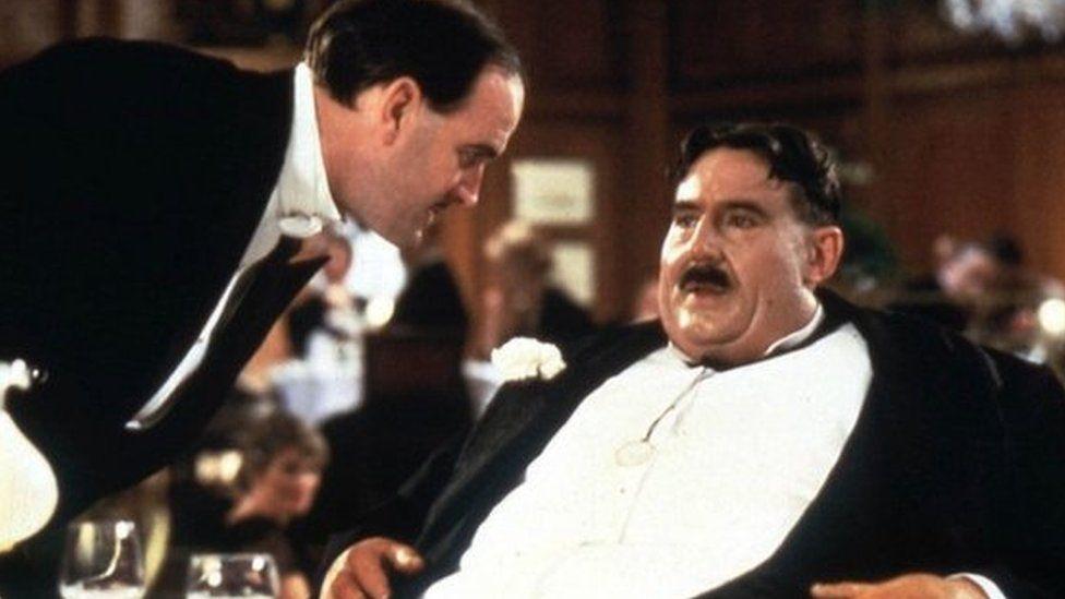 Terry Jones as Mr Creosote