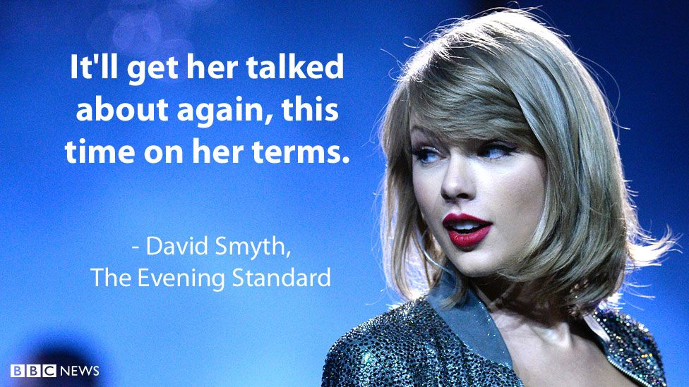 """David Smyth's review for the Evening Standard: """"It'll get her talked about again, this time on her terms."""""""