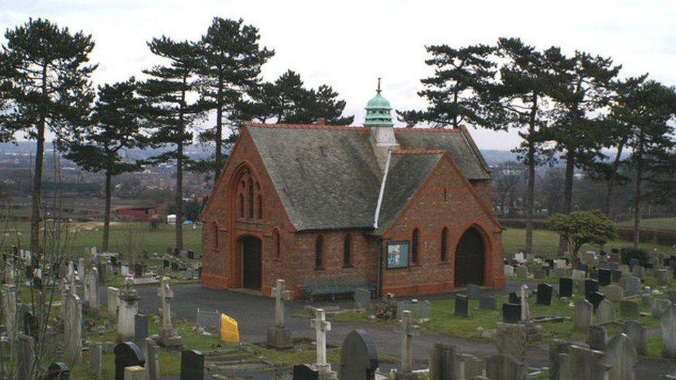 Cemetery chapel in Hawarden