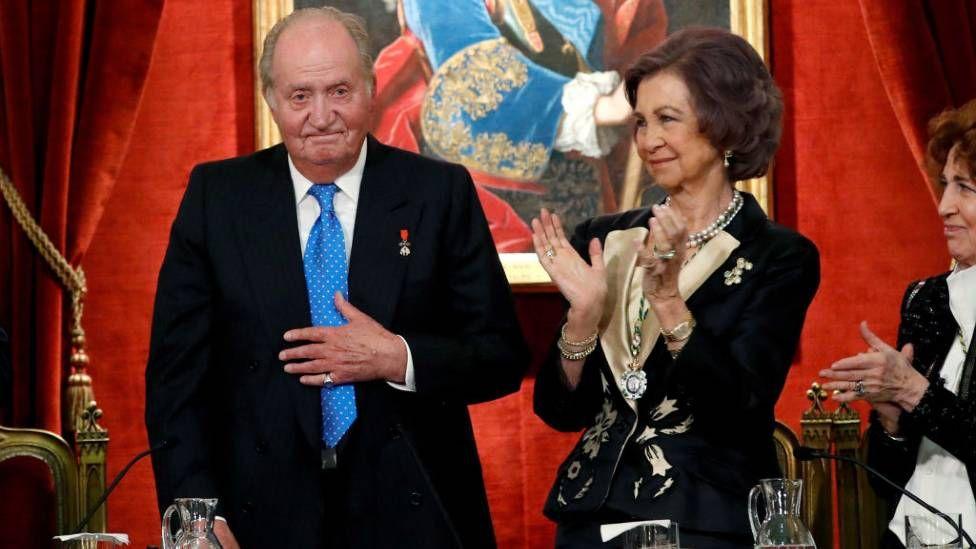 Juan Carlos and Queen Sofia