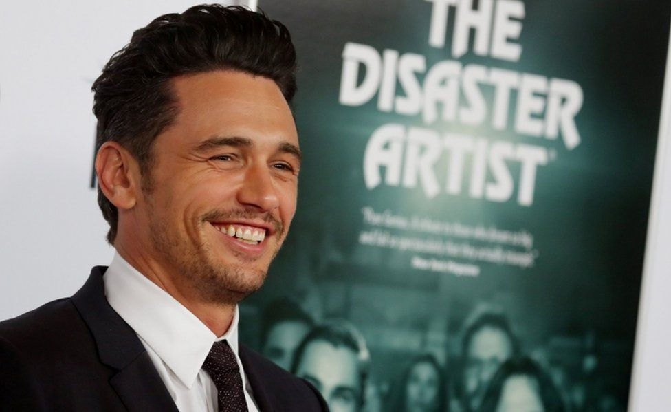 "Director and star James Franco arrives for the gala presentation of ""The Disaster Artist"" at the AFI Film Festival in Los Angeles, California, U.S., November 12, 2017. REUTERS/Mike Blake"