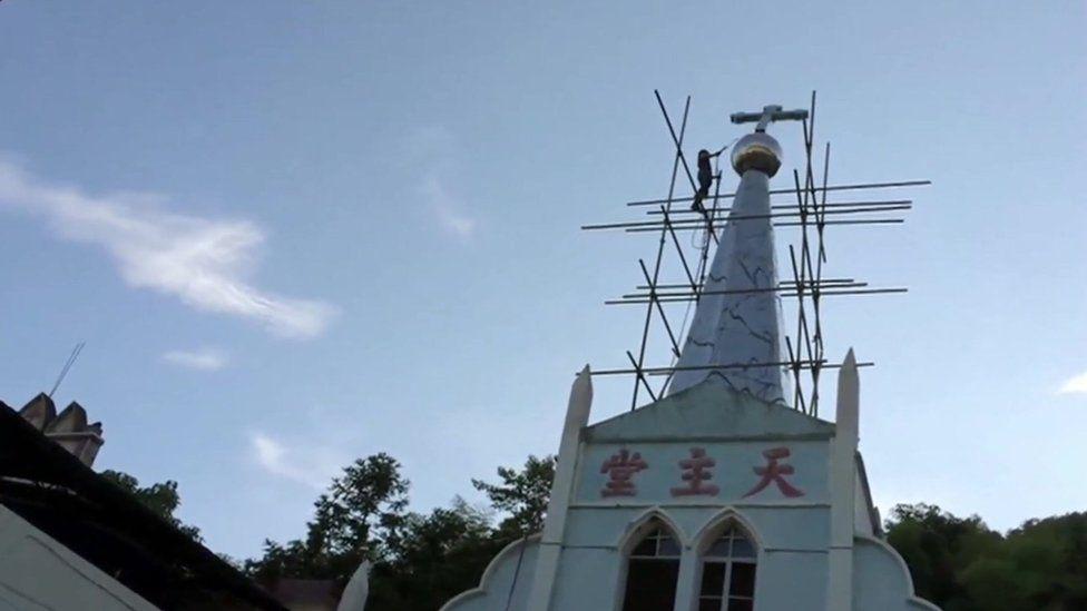 Church in eastern China