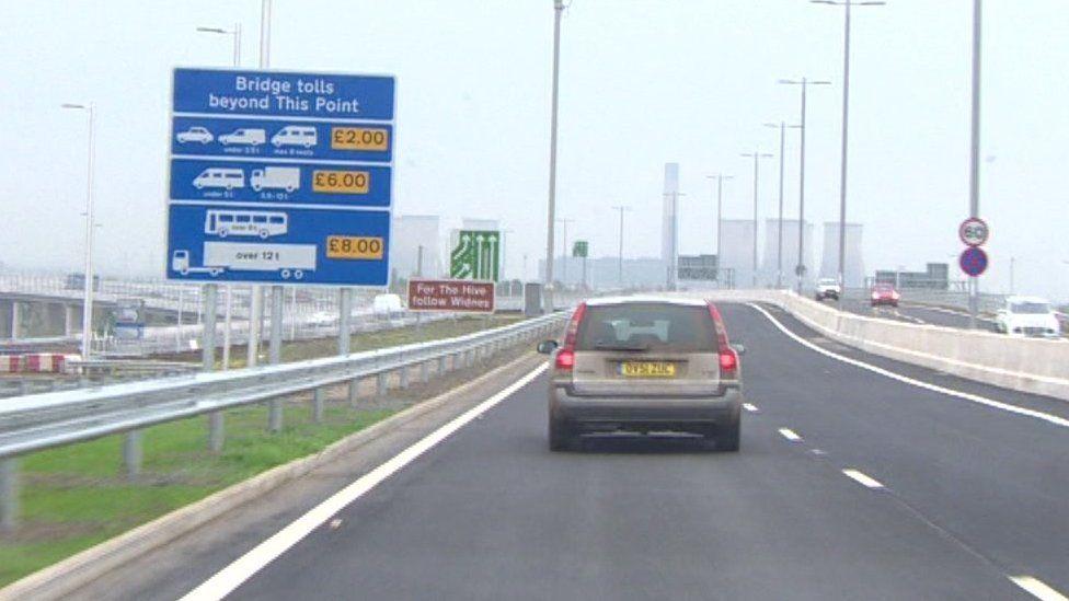 Mersey Gateway signs