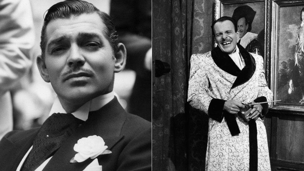 Clark Gable and Terry Thomas