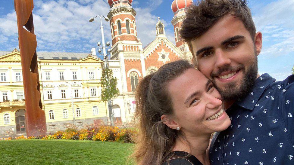 Chris and Karolina