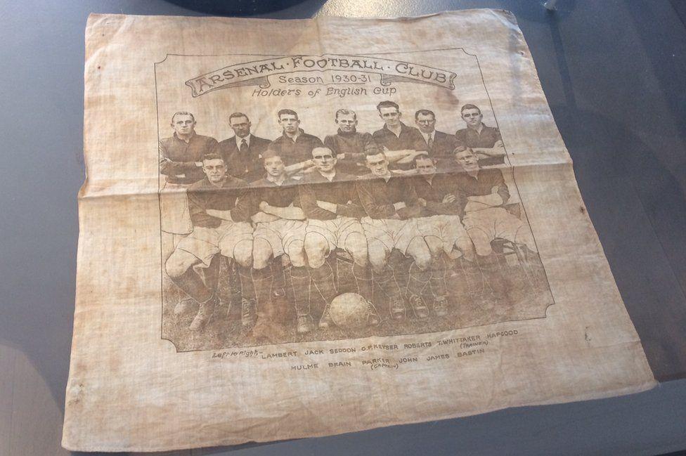 Arsenal handkerchief