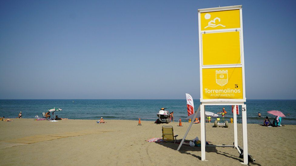 Beach at Torremolinos