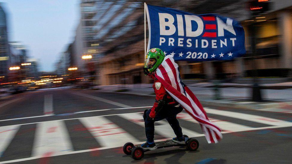 Biden supporter