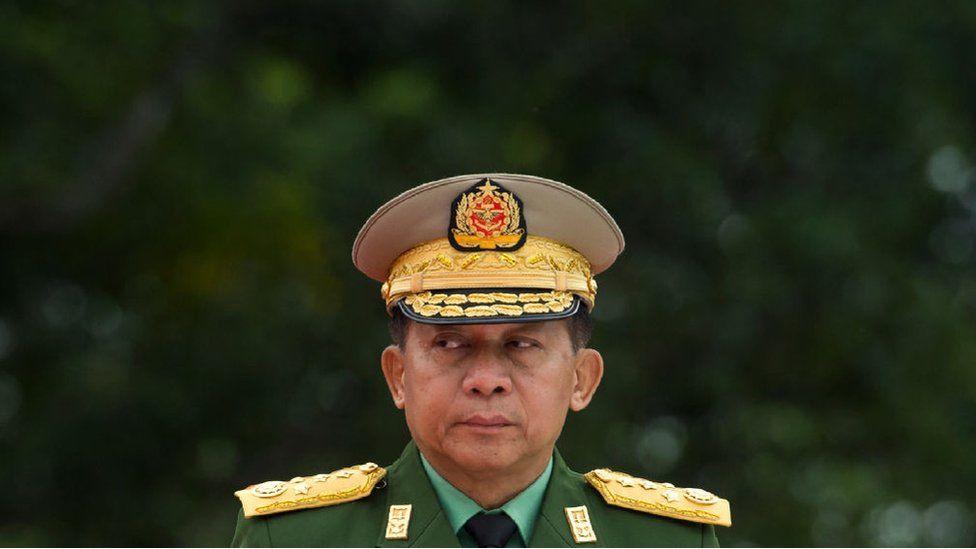 Myanmar's Chief Senior General Min Aung Hlaing