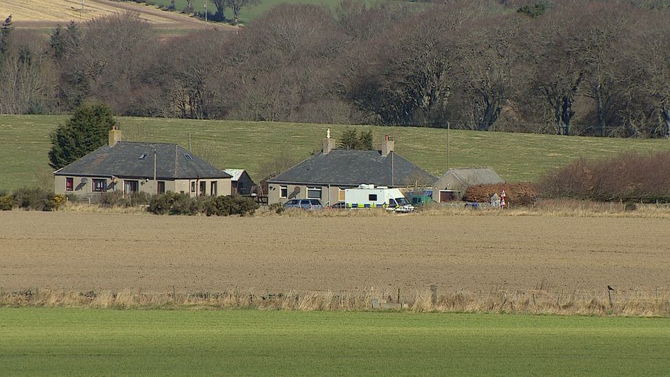The 67-year-old's body was found in his cottage near Rothienorman