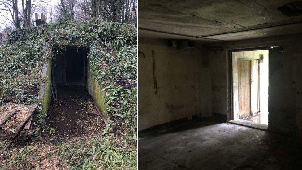 Holiday home plan for windowless WW2 bunker thumbnail