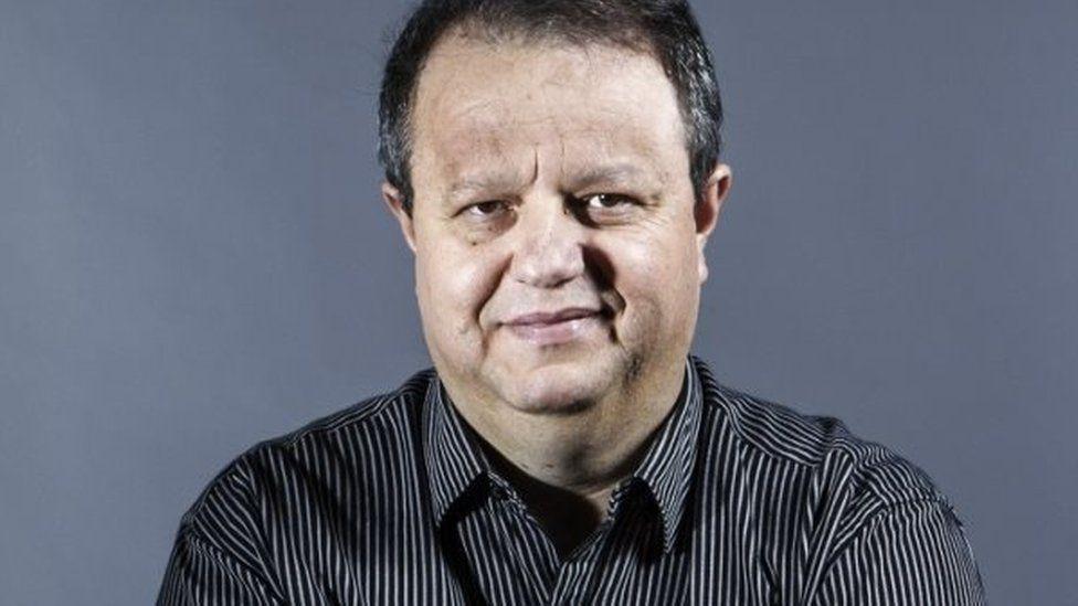 File picture of TV commentator Devair Paschoalon