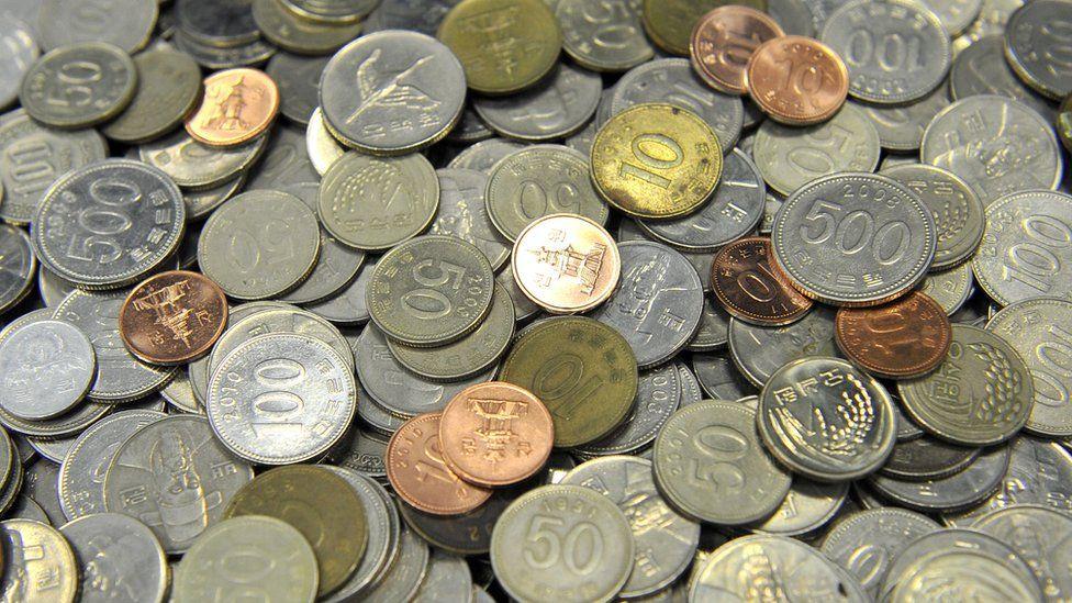 South Korean coins