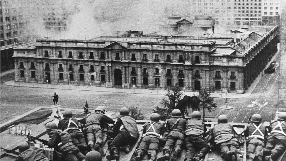 Coup in Chile in 1973