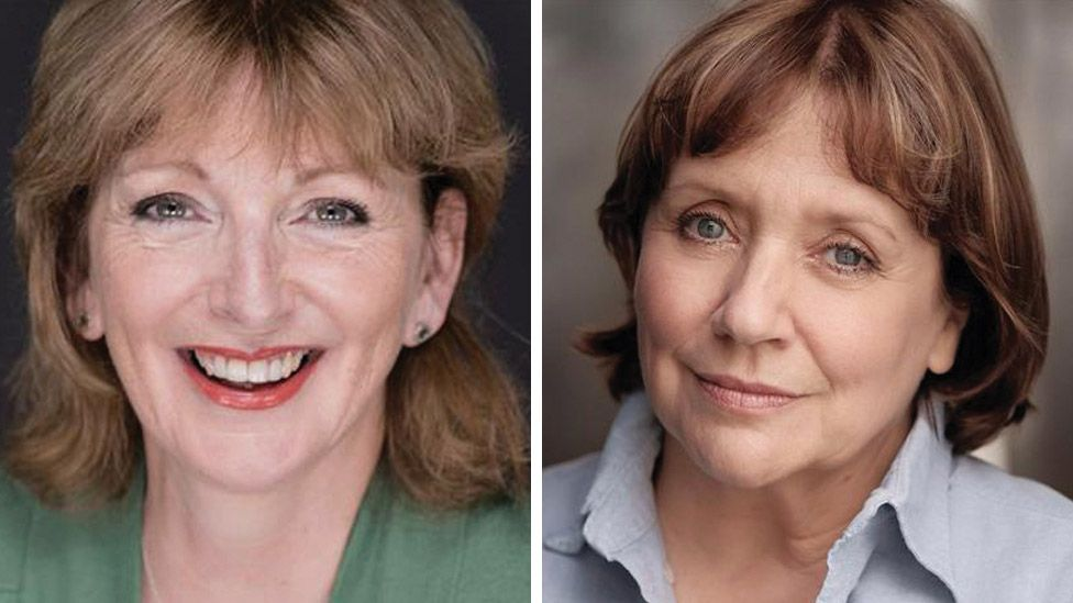 Lesley Molony (left) and Joanna Monro