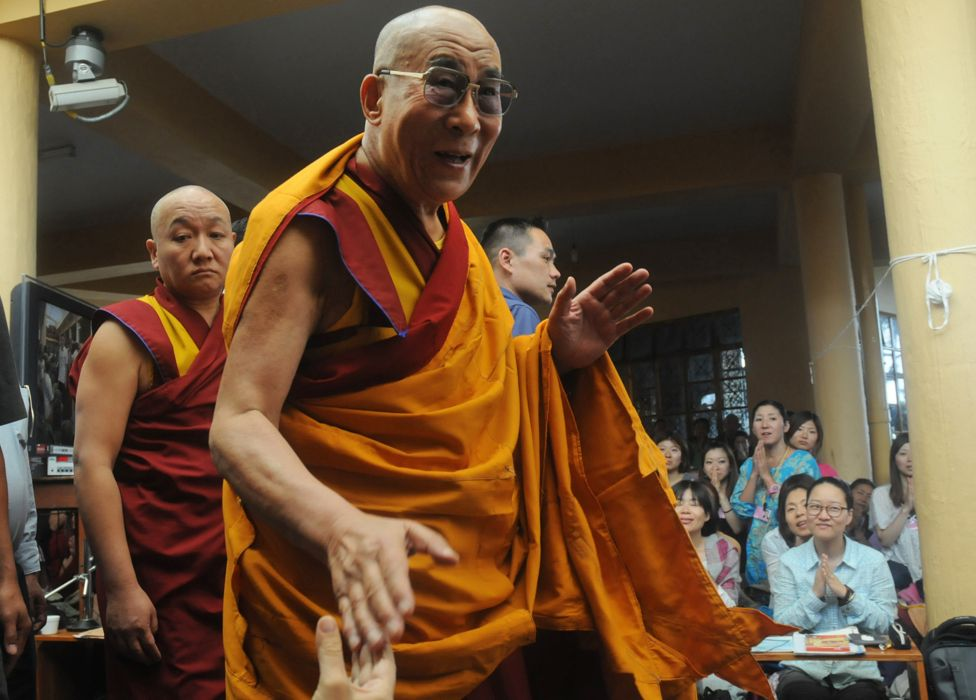 The Dalai Lama in 2012