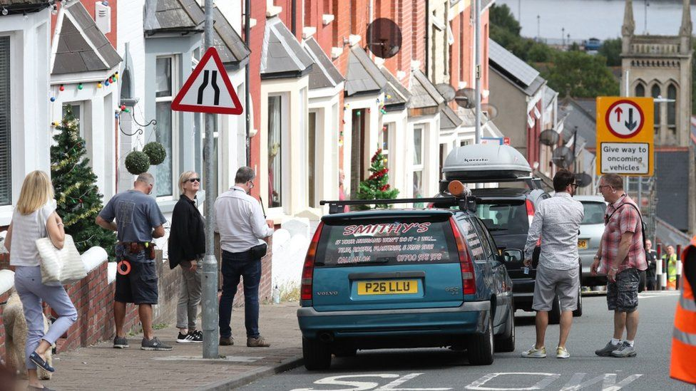 Smithy's car was spotted on the street