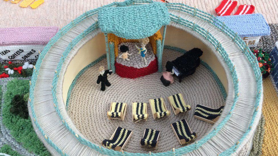 Knitted Marina, Great Yarmouth