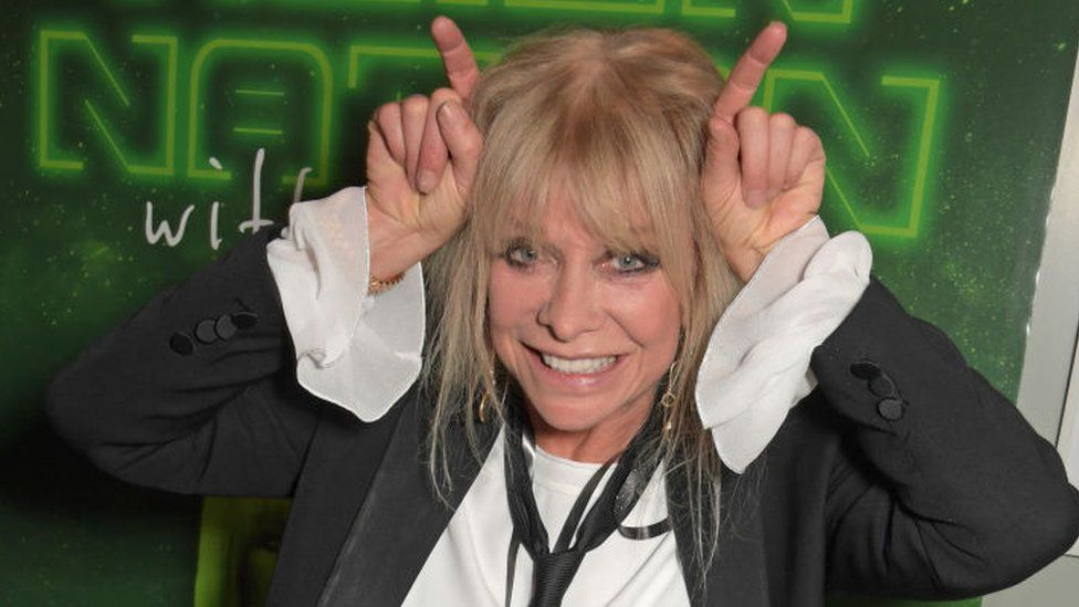 Jo Wood at the launch of Alien Nation