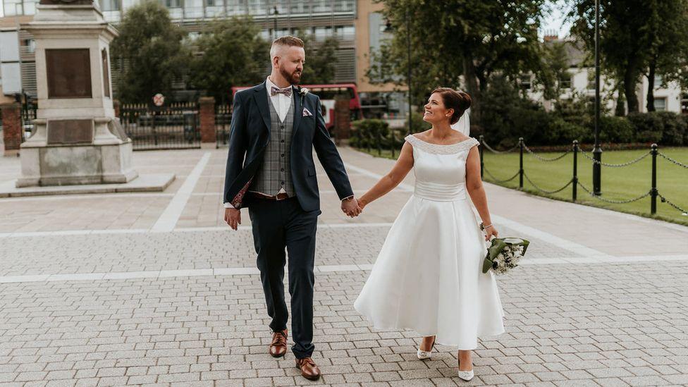 Paul Malone and Emma Taylor