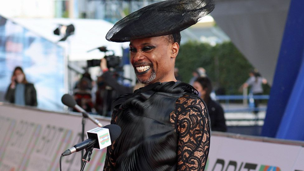 Billy Porter at the Brit Awards
