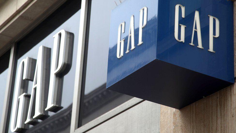 Gap storefront
