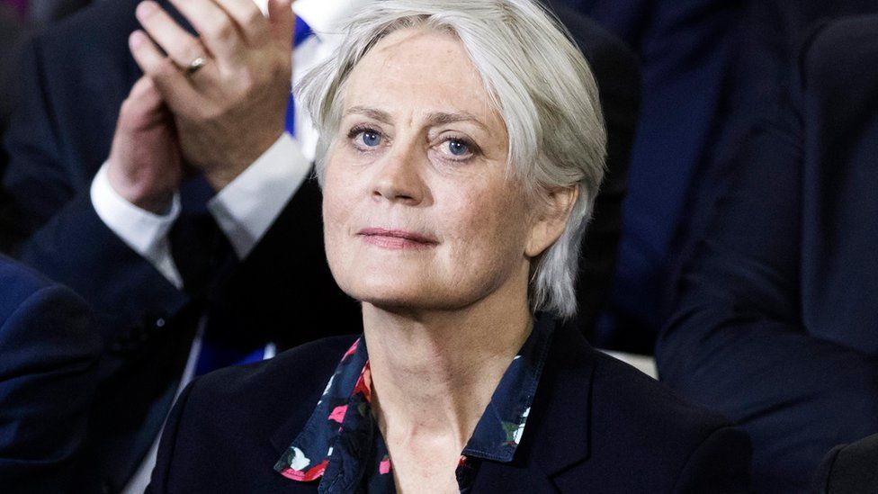 Penelope Fillon, wife of former French Prime Minister and Les Republicains political party candidate for the 2017 presidential election Francois Fillon