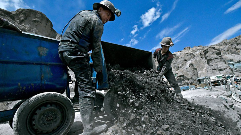 Porco mine in Bolivia operated by Glencore