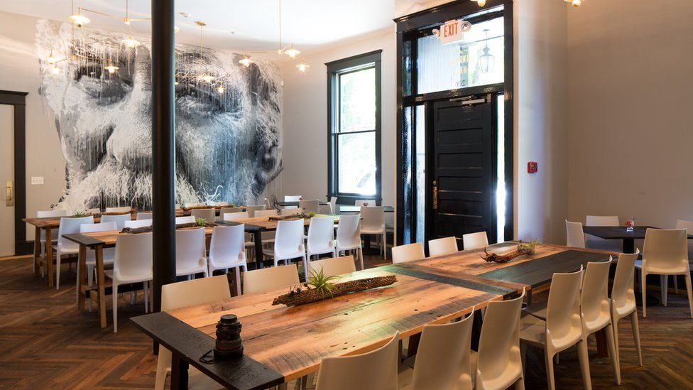 The co-working space at Common House