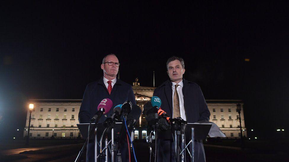 Julian Smith and Simon Coveney