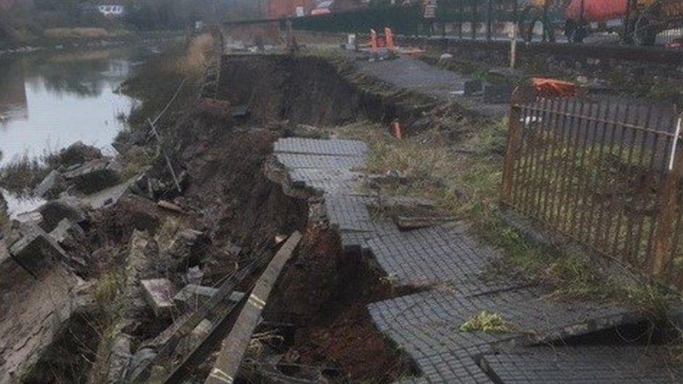 Cumberland Basin wall collapse