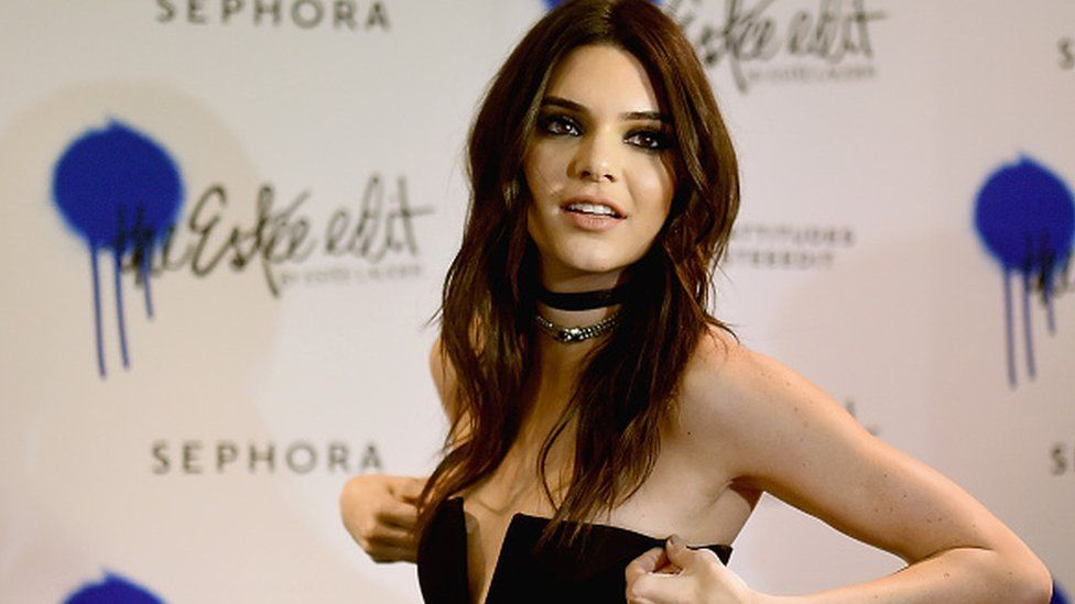 Kendall Jenner is the face of Estee Lauder