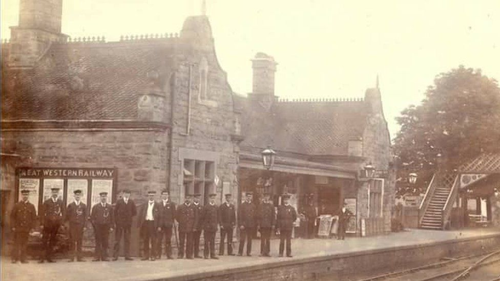 The station opened at Bridgnorth in 1862