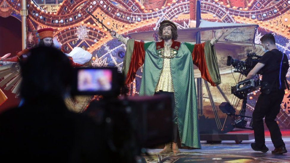 Many arts events are to be broadcast online, including this production in Russia.