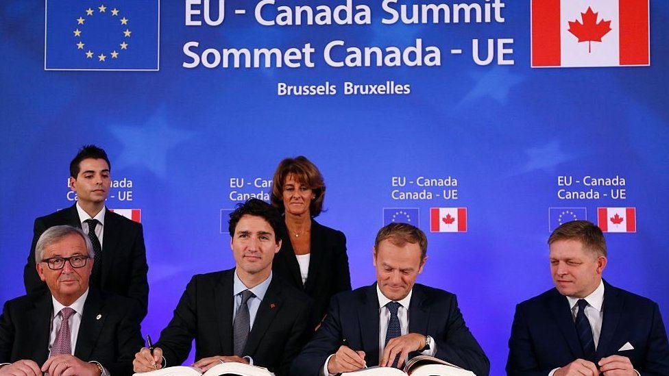 EU-Canada trade summit