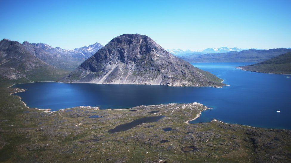 View of Qaqortoq, Greenland - 30 Jul 13