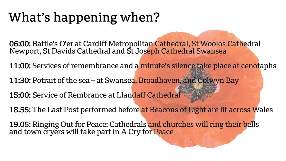 Armistice Day events