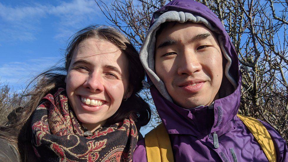 Elizabeth Facer and Ian Choi