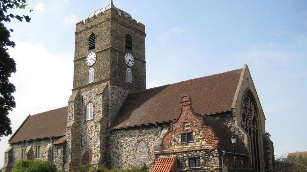 St Peter's Church in Sandwich