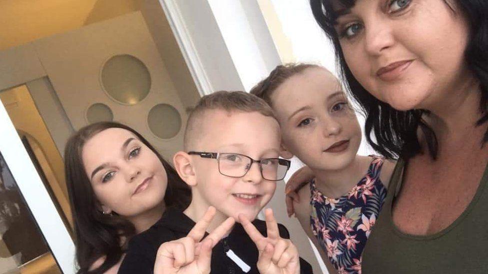Natasha and her children