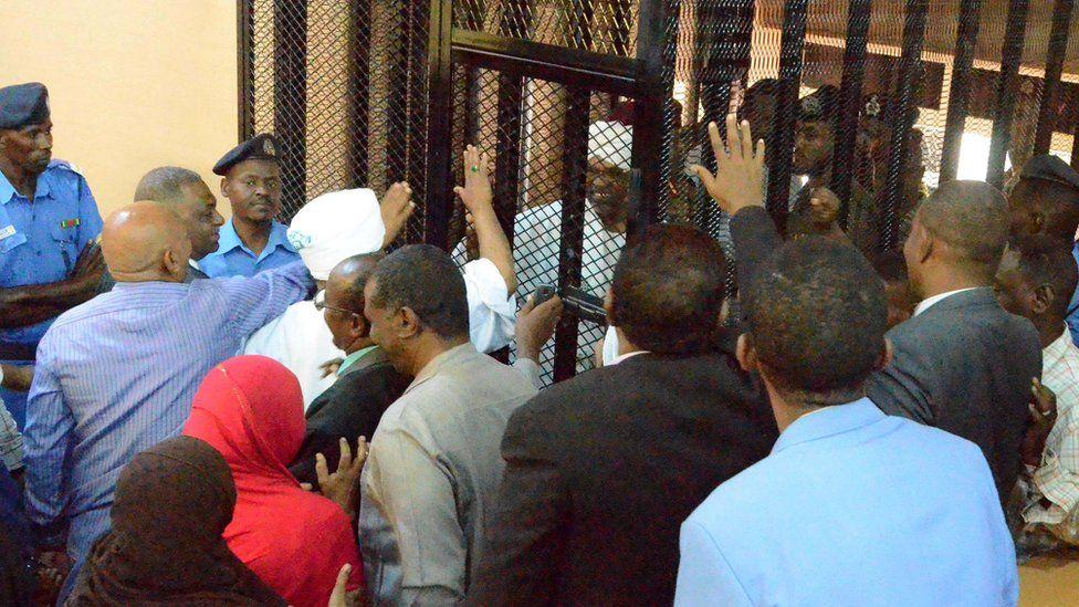 Bashir greeting relatives