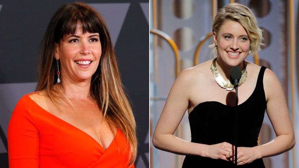 Patty Jenkins and Greta Gerwig