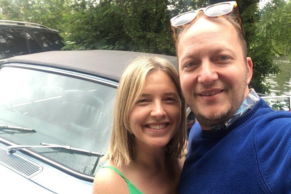 James Saville and his wife Lara Gould